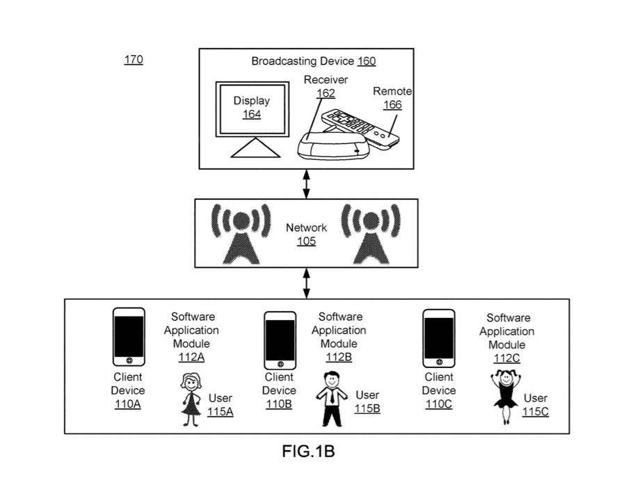 A diagram in the patent application.