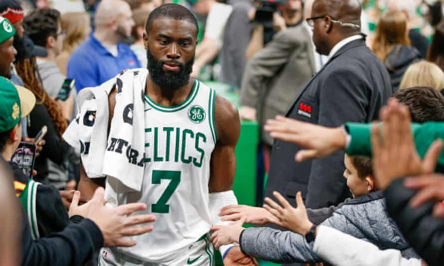 Jaylen Brown: 'My intention in writing this editorial is to hopefully inspire our society to come together rather than drift farther and farther apart'
