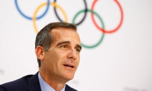 Mayor of Los Angeles Eric Garcetti says winning the Olympic bid shows 'LA is still a can-do city'.