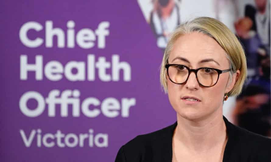 Victoria's deputy chief health officer Annaliese van Diemen