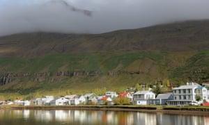 Seyðisfjörður, a beautiful small town of clapboard houses