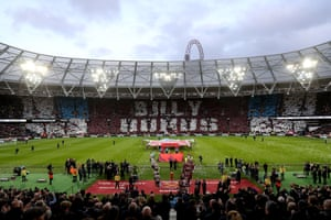 In an emotional tribute prior to kick-off, West Ham fans honoured club legend Billy Bonds - who made 799 appearances for the Hammers, renaming The London Stadium's East Stand in his honour. West Ham beat Newcastle 2-0 thanks to Declan Rice's opener and Mark Noble's penalty.