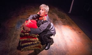 The madness of power … Kathryn Hunter in The Emperor at the Young Vic, London.