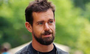 Dorsey, new CEO of Twitter and CEO of Square, attends the annual Allen and Co. media conference in Sun Valley.