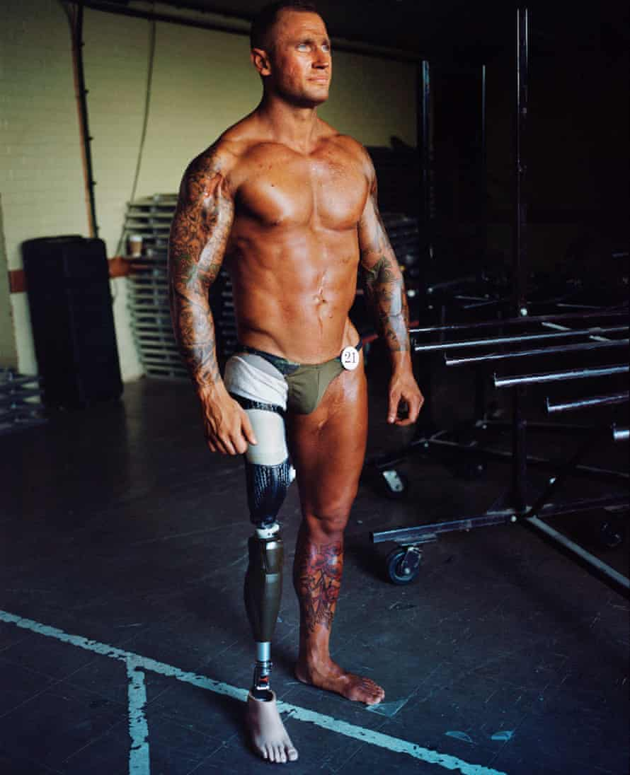 Soldier turned strongman Mark Smith