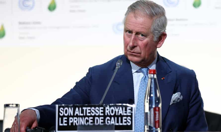 The Prince of Wales speaks at the United Nations Climate Summit in 2015