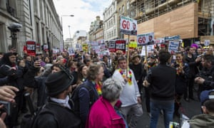 Panama Papers demonstration entitled 'David Cameron: close tax loopholes or resign!'