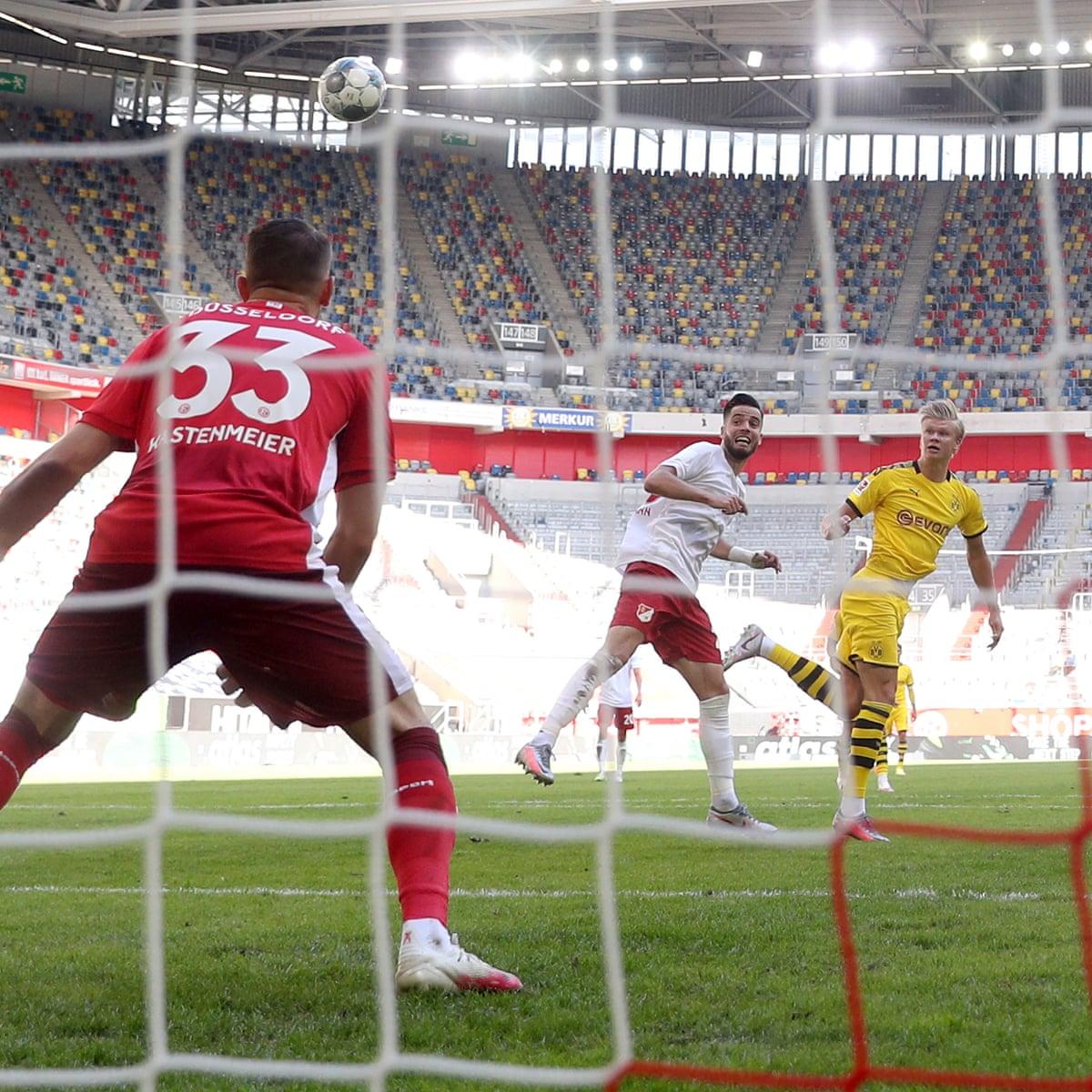 Fortuna Düsseldorf 0-1 Borussia Dortmund: Bundesliga – as it ...
