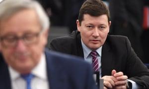 Martin Selmayr, the European commission's secretary general.