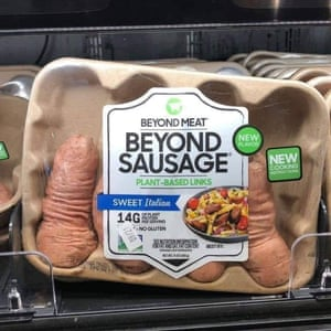 vegan sausages