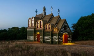 A House for Essex, or Julie's House, 2015, in Wrabness, designed by Charles Holland of FAT Architects with Grayson Perry.