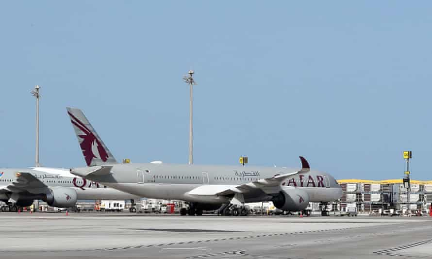 A New Zealand woman was intimately examined at Qatar's Doha airport along with more than a dozen other women.