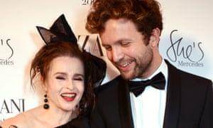 Helena Bonham Carter and Rye Dag Holmboe in London last month.