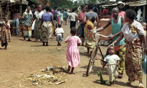 Market in Lilongwe, Malawi. An agreement between Malawi and the UK signed in 1955 while the African nation was under colonial rule is still in operation today.