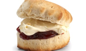 Big margarine of error? The Conservative leader revealed her family recipe for scones to the Sunday Times.
