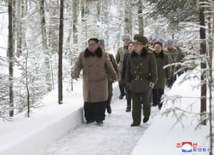 The latest mountain trip comes as a year-end deadline set by Kim for Washington to come up with new proposals to salvage nuclear diplomacy is approaching