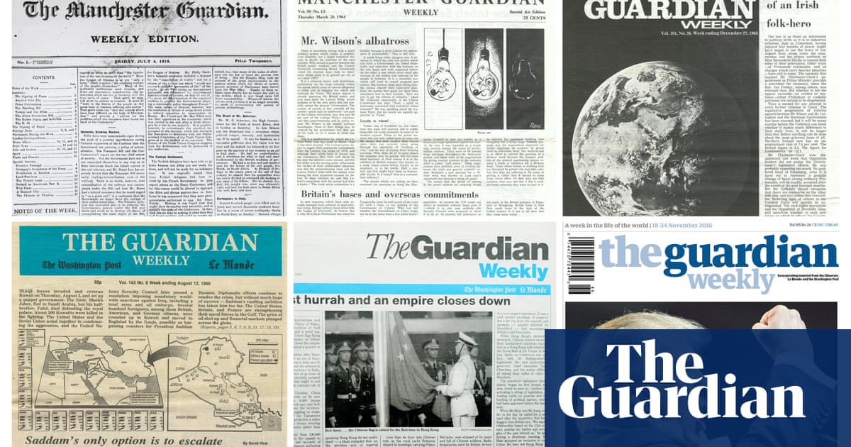 Guardian Weekly: our bold new look for the international