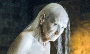 Withered hag ... the great Melisandre reveal.