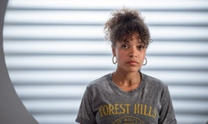 Antonia Thomas in the Tipping Point episode from the BBC's Snatches series.