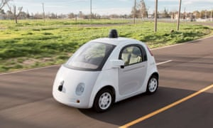 A prototype of a Google self-driving car