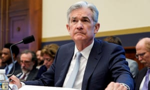 Federal Reserve Board chairman Jerome Powell delivers the Federal Reserve's Semiannual Monetary Policy Report to the House Financial Services Committee on Capitol Hill in Washington, U.S., February 27, 2019. REUTERS/Joshua Roberts/File photo