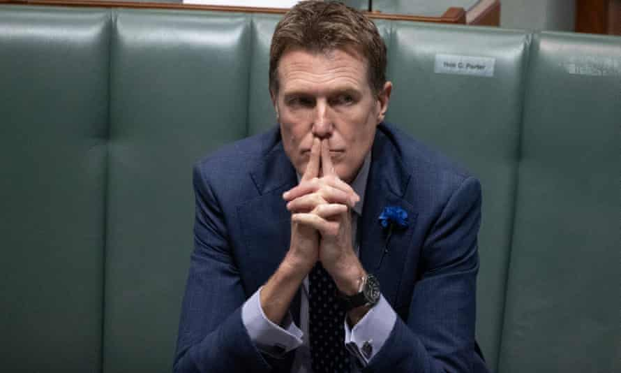 Christian Porter in parliament