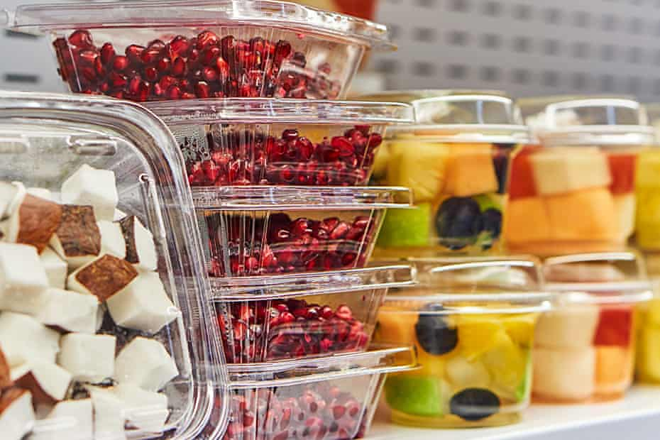 Plastic packaging can introduce chemicals into your food.