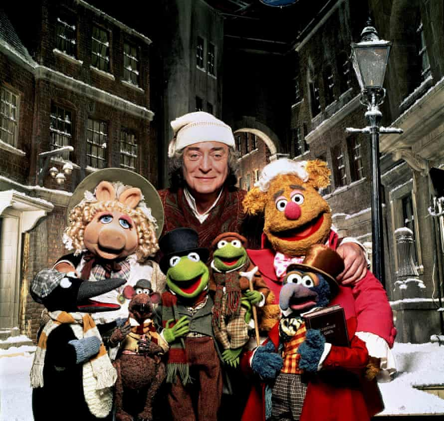 The Muppets with Michael Caine.