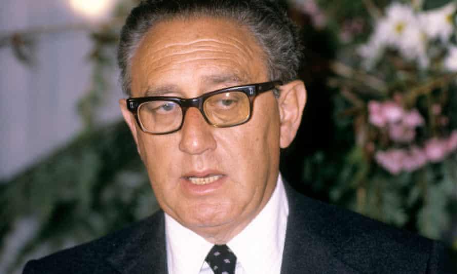 Henry Kissinger, the former US secretary of state.