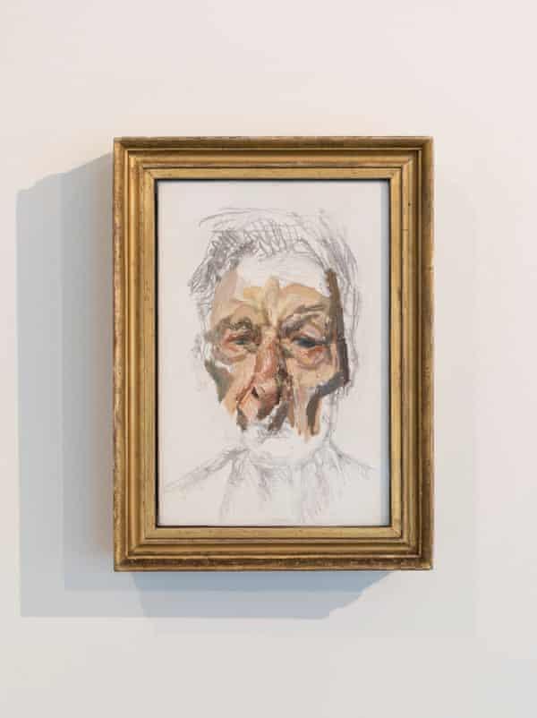 Self-Portrait, 2002, by Lucian Freud.
