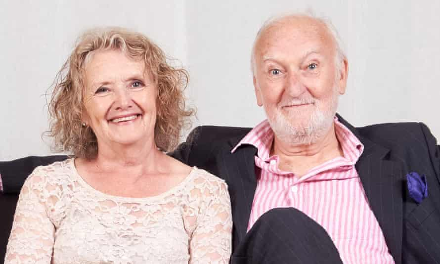 'Your own confidence never seemed to falter' ... Polly and David Milner. Photograph courtesy Polly Milner