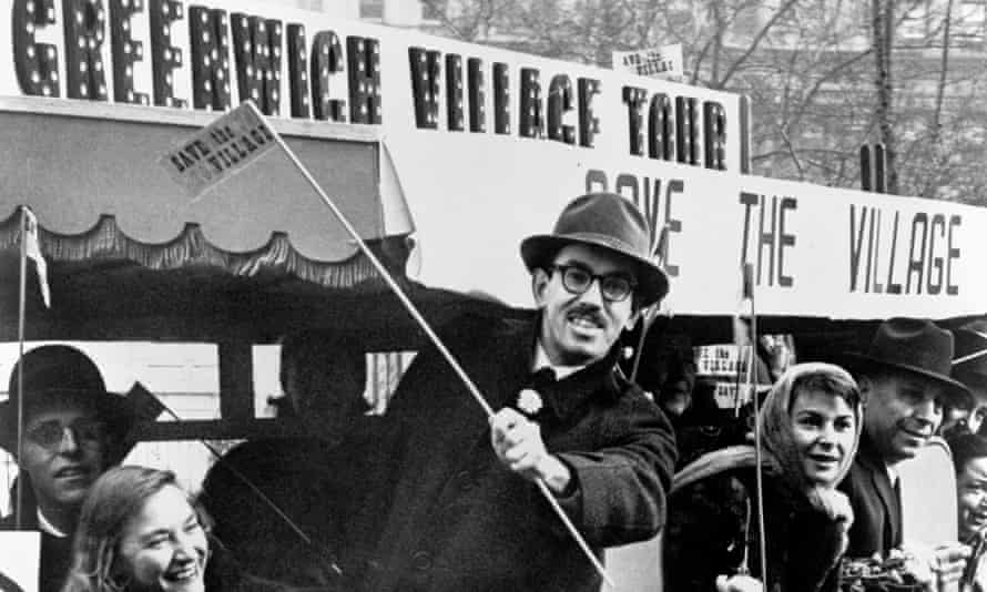 Greenwich Village protest against Robert Moses's plans to build the Lower Manhattan Expressway in 1960.