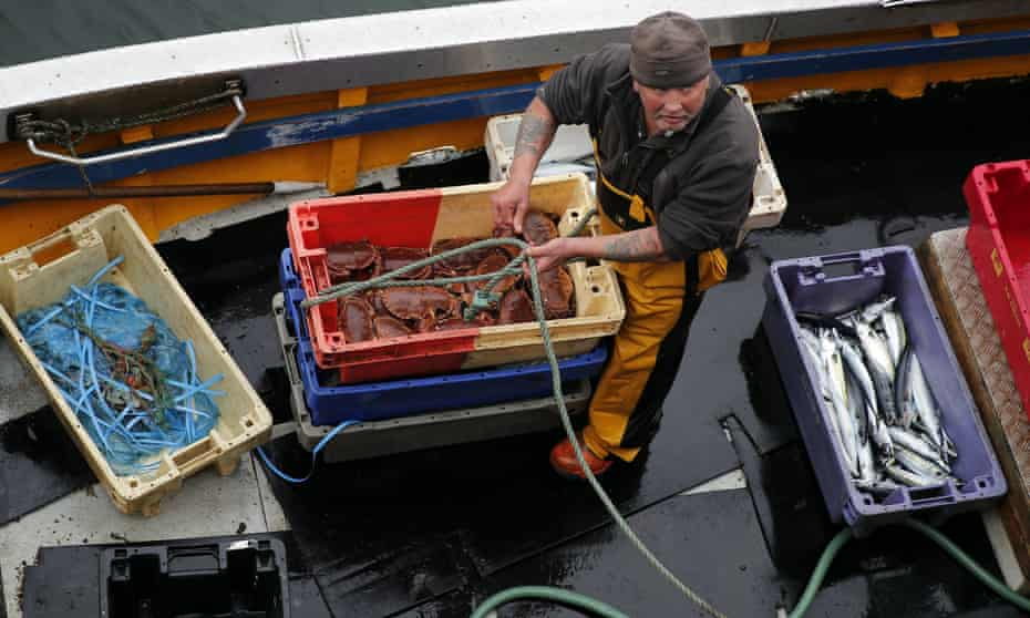 Nicola Sturgeon is arguing that Scottish fishers have been shortchanged.