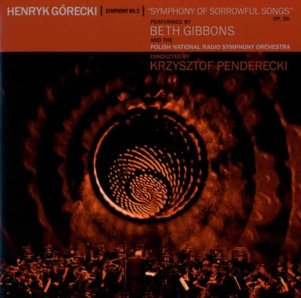 Henryk Górecki: Symphony No 3 album artwork