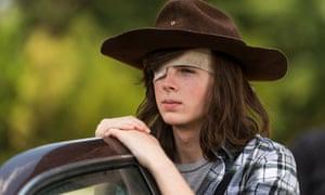 Bent on revenge … will Rick's errant son Carl lead the charge against Negan?