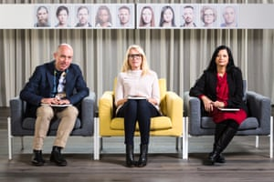 The psychologists in SBS's TV show How 'Mad' Are You?, which examines mental illness in Australians