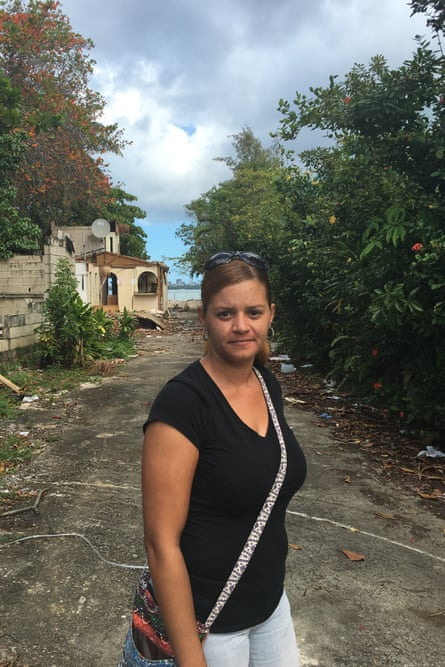 "Sheida Franqui Torres, 36, her home and hundreds of others in Puerto Rico's Vietnam neighbourhood are being forcibly bulldozed to make way for a new luxury hotel and casino complex. ""They want to move all of us from here so that they can construct a hotel,"" she said. ""It's a nice plan for her rich people, but not for me or the other people who have live, some of them, for more than 50 years."""