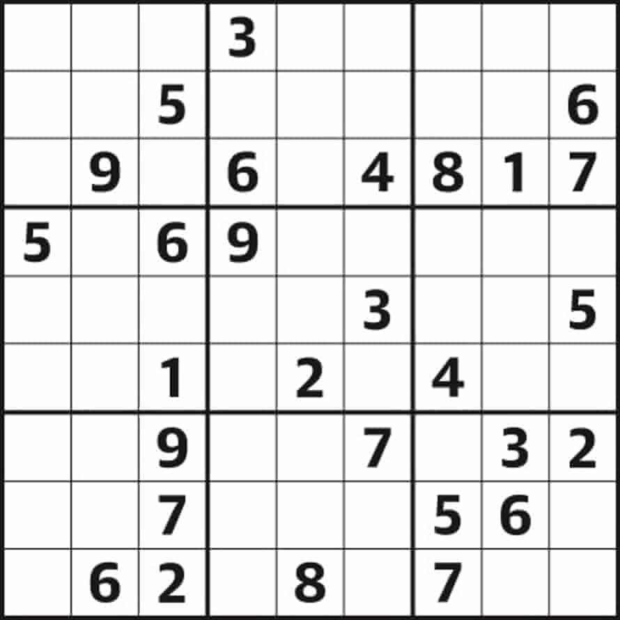 Sudoku 4797 medium