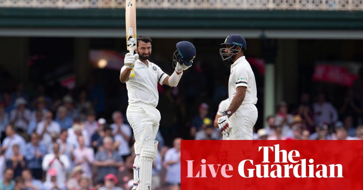 Australia v India: SCG fourth Test, day one – as it happened