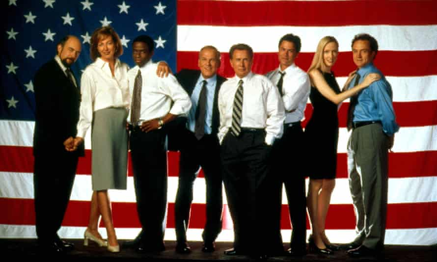 Timely, gripping and bewitching ... The West Wing.