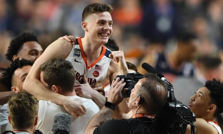 Virginia To Face Texas Tech In Ncaa Title Game After Shocking Auburn At Death Ncaa Tournament 2019 The Guardian