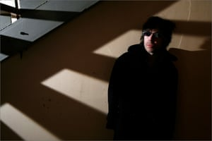 Ian McCulloch at Parr Street Studios, Liverpool, in 2008.