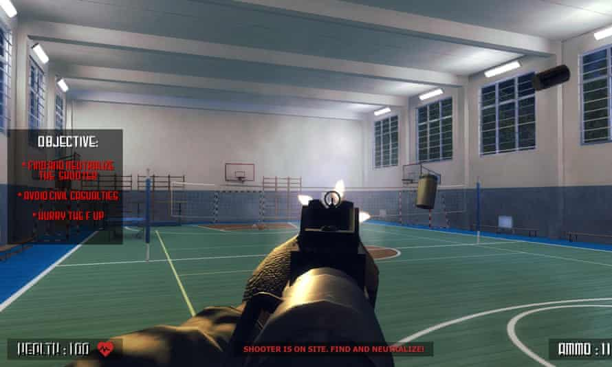 Active Shooter, which has been removed from the digital games store Steam.