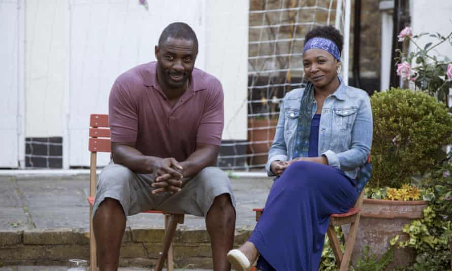 Idris Elba and Nadine Marshall in Second Coming