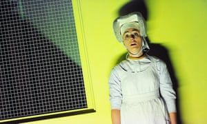 Ermonela Jaho as sister Angelica in Suor Angelica from Il Trittico by Puccini at the Royal Opera House. Conducted by Nicola Luisotti. Directed by Richard Jones.