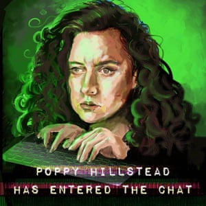 The lady with the log-on … Poppy Hillstead Has Entered The Chat