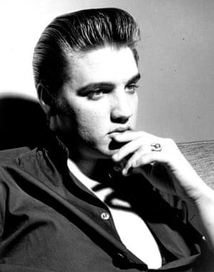 Presley poses for a portrait circa 1960
