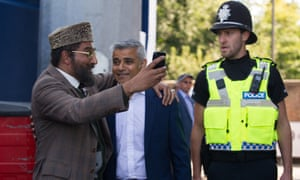 Citizen Khan, with a guest appearance from London's mayor, Sadiq Khan.