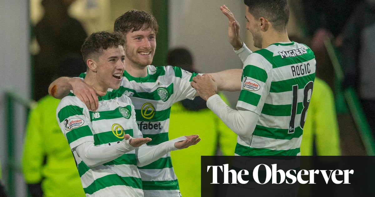 QnA VBage Johnston's two goals earn comprehensive Celtic win over Dundee