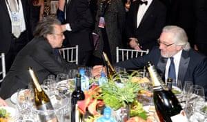 Al Pacin and Robert De Niro